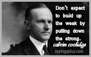 Calvin Coolidge Quotes