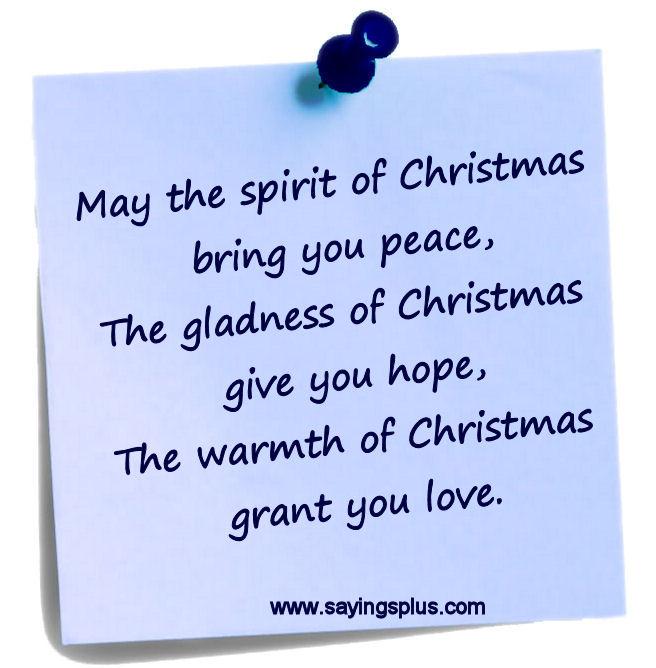 christmas sayings and quotes