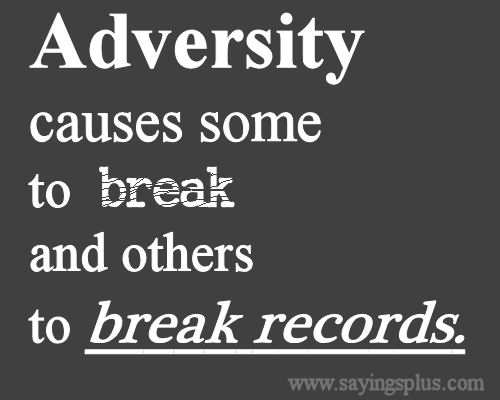 dealing with adversity quotes