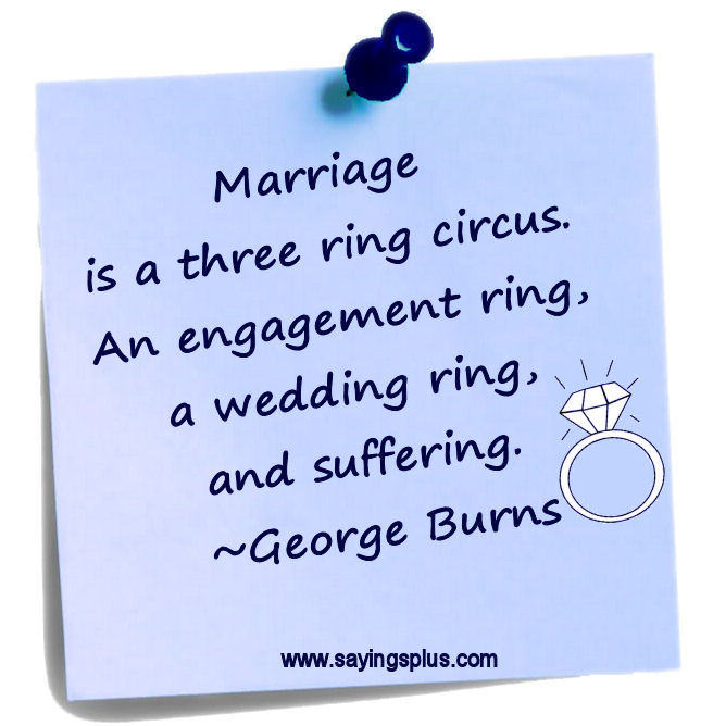 funny george burns quotes