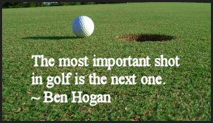 golf saying