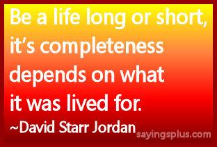 living life sayings