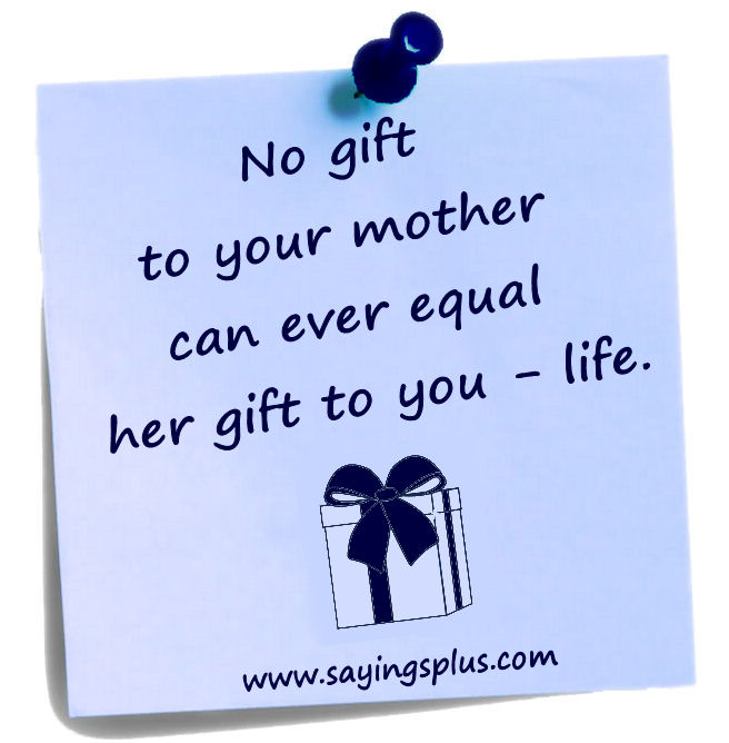 mothersday sayings