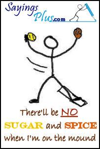 softball pitchersayings