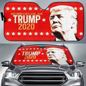 2020 Presidential Campaign Trump 2020 Car Auto Sun Shade