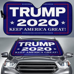 2020 Presidential Campaign Trumps Car Auto Sun Shade