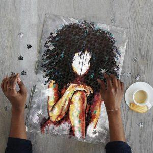 A Girl Jigsaw Puzzle Set