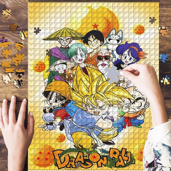 A Gohan Dragon Ball Jigsaw Puzzle Set