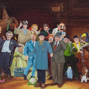 A Humorous Take On The Night Watch Jigsaw Puzzle Set