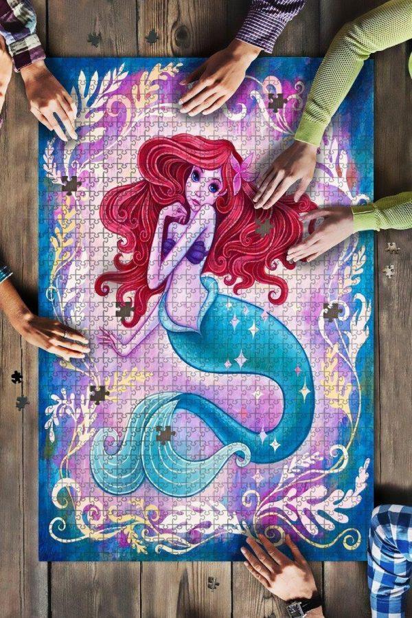 A Little Mermaid Jigsaw Puzzle Set