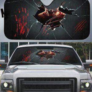 A Nightmare On Elm Street Frederick Charles Krueger Car Auto Sun Shade