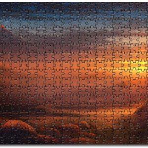A Silent Dawn Jigsaw Puzzle Set
