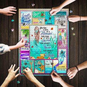 A Soulf Of A Mermaid Jigsaw Puzzle Set