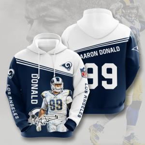 Aaron Donald Los Angeles Rams 3D Printed Hoodie/Zipper Hoodie