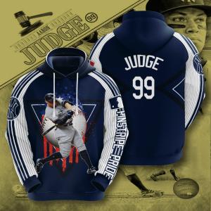 Aaron Judge New York Yankees 3D Printed Hoodie/Zipper Hoodie