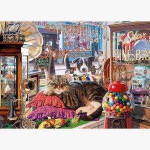 Abbeys Antique Shop Jigsaw Puzzle Set