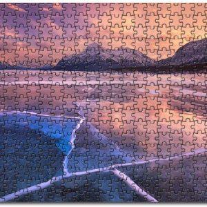Abraham Lake Jigsaw Puzzle Set