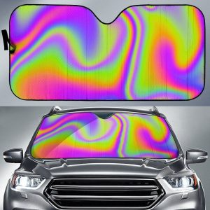 Abstract Holo Car Auto Sun Shade