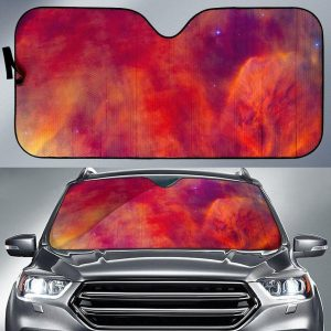 Abstract Nebula Cloud Galaxy Car Auto Sun Shade