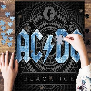 Ac/Dc Band Jigsaw Puzzle Set