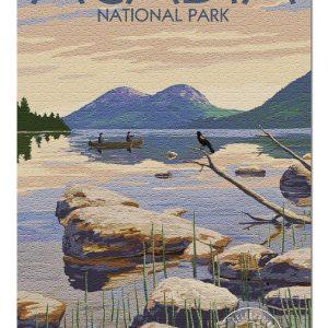 Acadia National Park Jigsaw Puzzle Set