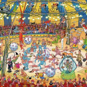 Acrobat Circus Jigsaw Puzzle Set