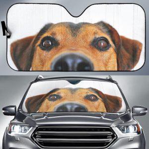 Adorable Dog Car Auto Sun Shade