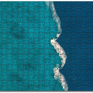 Aerial Blue Ocean Jigsaw Puzzle Set
