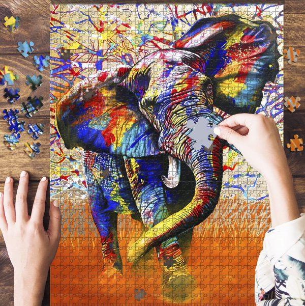 African Colours Jigsaw Puzzle Set