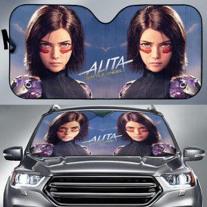 Alita Battle Angel Car Auto Sun Shade