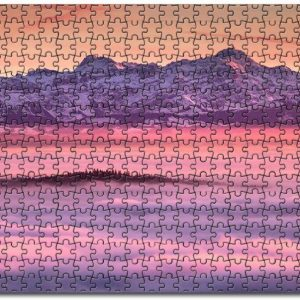 Alps Snow Lake Jigsaw Puzzle Set