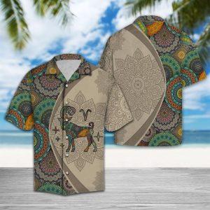 Amazing Aries Horoscope Hawaiian Shirt Summer Button Up