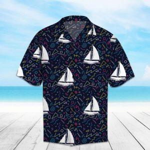 Amazing Boats Hawaiian Shirt Summer Button Up