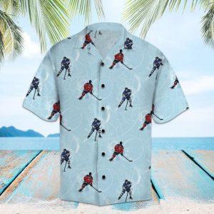 Amazing Hockey Hawaiian Shirt Summer Button Up