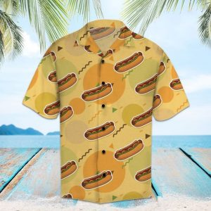 Amazing Hot Dog Hawaiian Shirt Summer Button Up