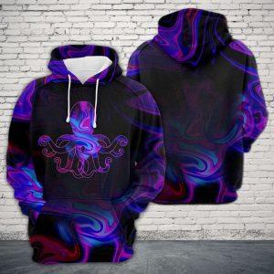 Amazing Octopus 3D Printed Hoodie/Zipper Hoodie