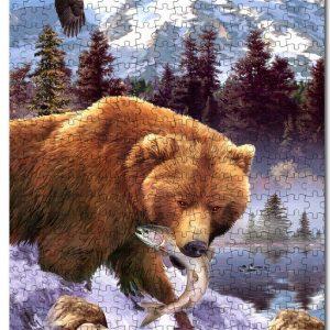 Animal Bear Jigsaw Puzzle Set