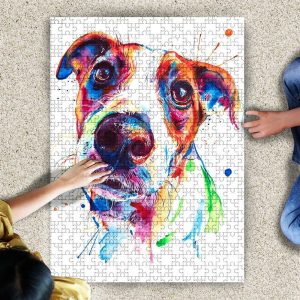 Animal Dogs, Russell Terrier Jigsaw Puzzle Set