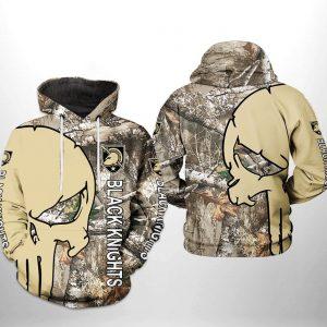 Army Black Knights NCAA Camo Veteran Hunting 3D Printed Hoodie/Zipper Hoodie