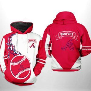Atlanta Braves MLB Classic 3D Printed Hoodie/Zipper Hoodie