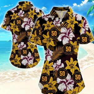 Cleveland Cavaliers Women Hawaiian Shirt Summer Button Up