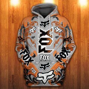 Fox Racing 3D Printed Hoodie/Zipper Hoodie