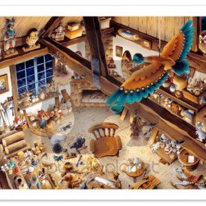 Wooden Toy Workshop Jigsaw Puzzle Set