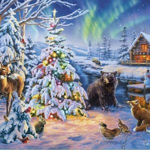 Woodland Christmas Jigsaw Puzzle Set