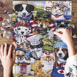 Working Paws Jigsaw Puzzle Set