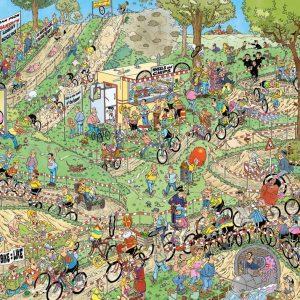 World Championships Cyclocross Jigsaw Puzzle Set