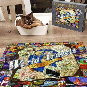 World Travel ? Jigsaw Puzzle Set