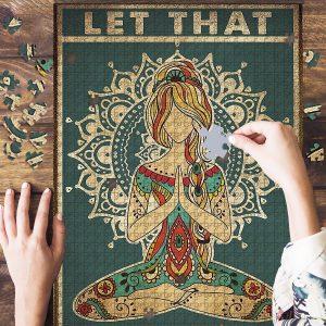 Yoga Let That Jigsaw Puzzle Set