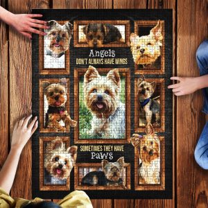 Yorkies Jigsaw Puzzle Set