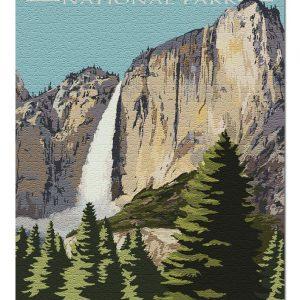 Yosemite Falls Jigsaw Puzzle Set